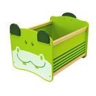 """Ящик для хранения """"Бегемот"""", зелёный"""