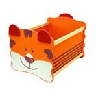 """Ящик для хранения """"Тигр"""", оранжевый"""