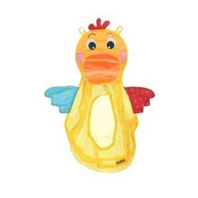 Игрушка для ванной «Голодный пеликан с мячиками»