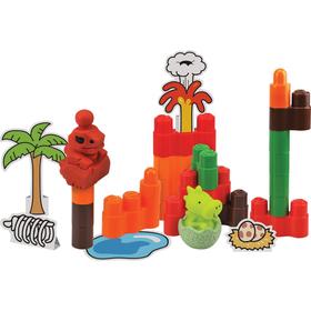 Конструктор Popbo Blocs «Динопарк», 25 деталей