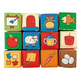 Кубики мягкие «Обучайка», мягкие