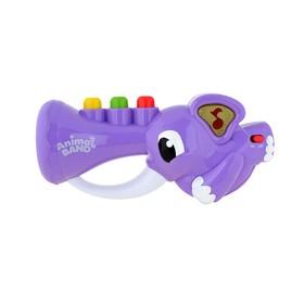 Развивающая игрушка Keenway «Слоник-трубач», серия Animal band