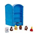 """Игровой набор Poopeez """"Туалетная кабинка"""", с 6 фигурками, 1 серия"""