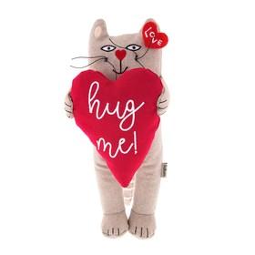 Мягкая игрушка «Кот: Обними меня», 25 см