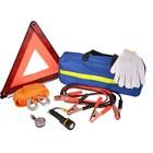 Набор Аварийный, состав: аварийный знак, трос 5 м, кабели, перчатки, фонарь, манометр