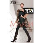 Колготки женские ЭРА Макси 250 цвет чёрный, р-р 7