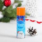 """Спрей """"Снежные хлопья"""", мелкие 150 мл, нетающие, цвет оранжевый"""