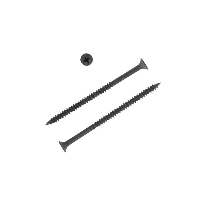 Саморезы по металлу НЛМК, 4.2х76 мм, оксид, частый шаг, 10 кг