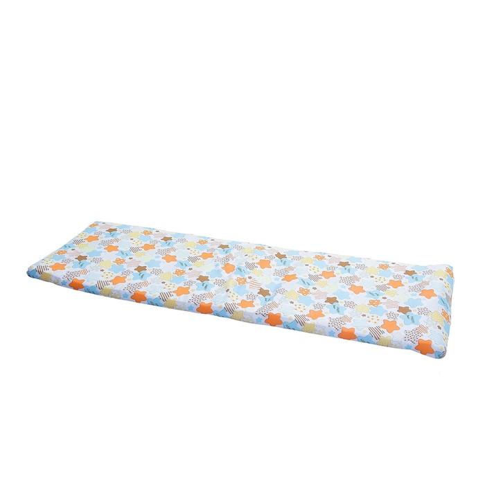 Матрас для раскладушки 200 × 70 × 6 см, плотность 600 г/м2, синтетическая ткань