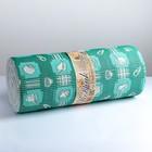 Коврик для ванной комнаты «Морской», 0,65×15 см, ПВХ, цвет зелёный - фото 920023