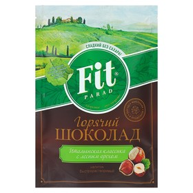 Fitparad Горячий шоколад со вкусом лесного ореха 200 г (дойпак)