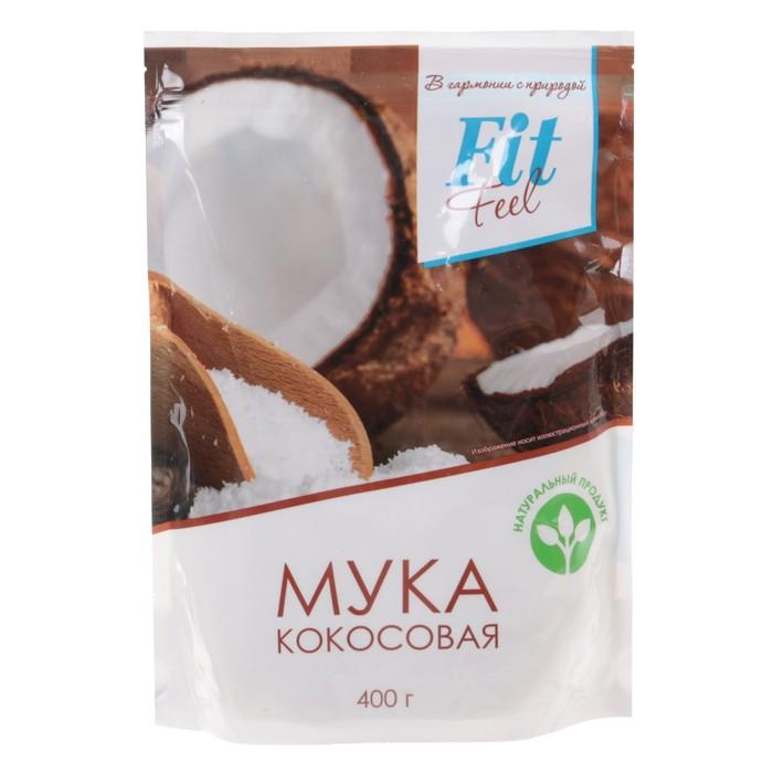 Fitparad Мука кокосовая 400 гр - фото 16476