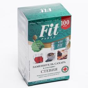 Заменитель сахара ФитПарад на эритрите и стевии №10 саше 50 г (100 штук)