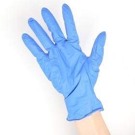 Перчатки нитриловые неопудренные, размер S, Assist, 200 шт/уп Ош
