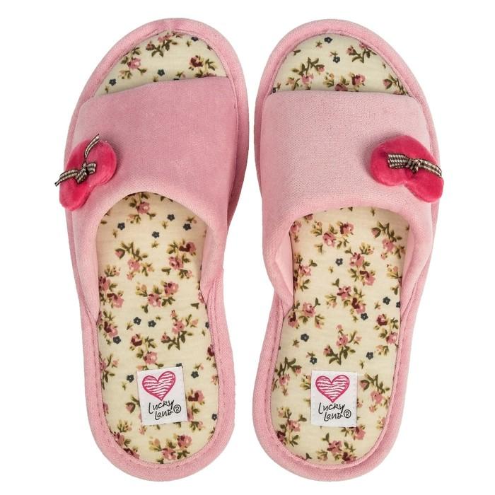 Тапочки женские 2068 W-NCH-O, цвет розовый, размер 36