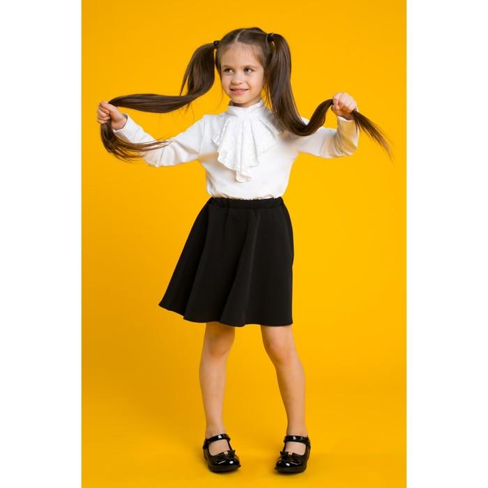 """Блуза для девочки MINAKU """"Элегантность"""", рост 158 см, цвет белый"""