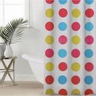 """Shower curtain 180×180 cm """"Circles"""""""