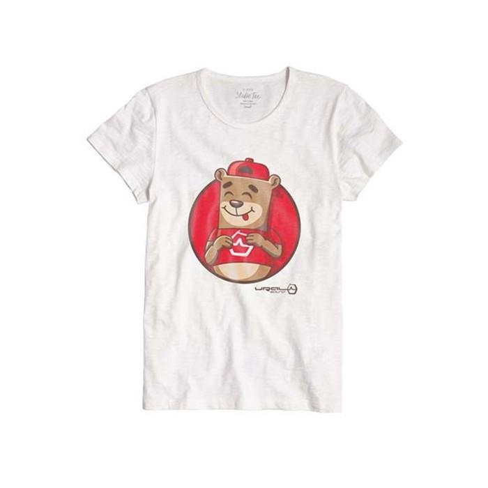 Фирменная футболка Уральский Мишка, женская, L