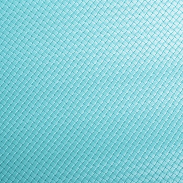 """Коврик противоскользящий сервировочный """"Переплетение"""" 45х100 см, цвет голубой - фото 437168695"""