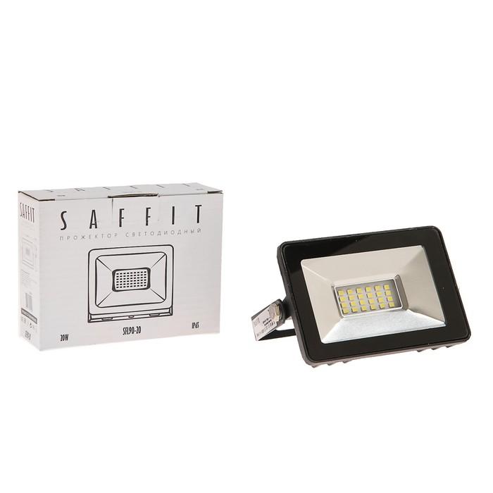 Прожектор светодиодный SFL90-20, 2835SMD, 20 Вт, 6400K, IP65, AC 220 В