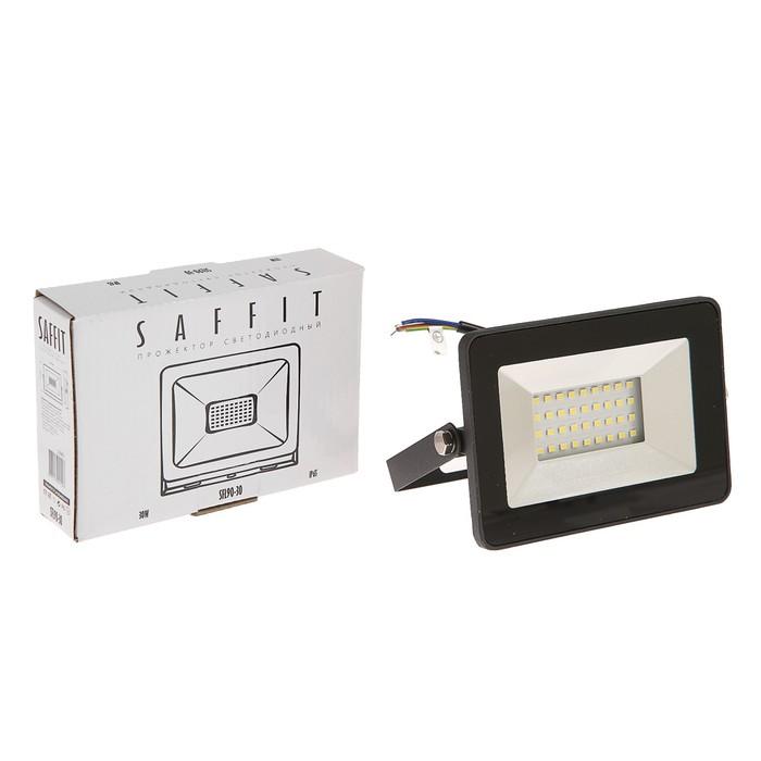 Прожектор SFL90-30 с встроенным датчиком 2835SMD, 30 Вт, 6400K, IP65, AC 220 В