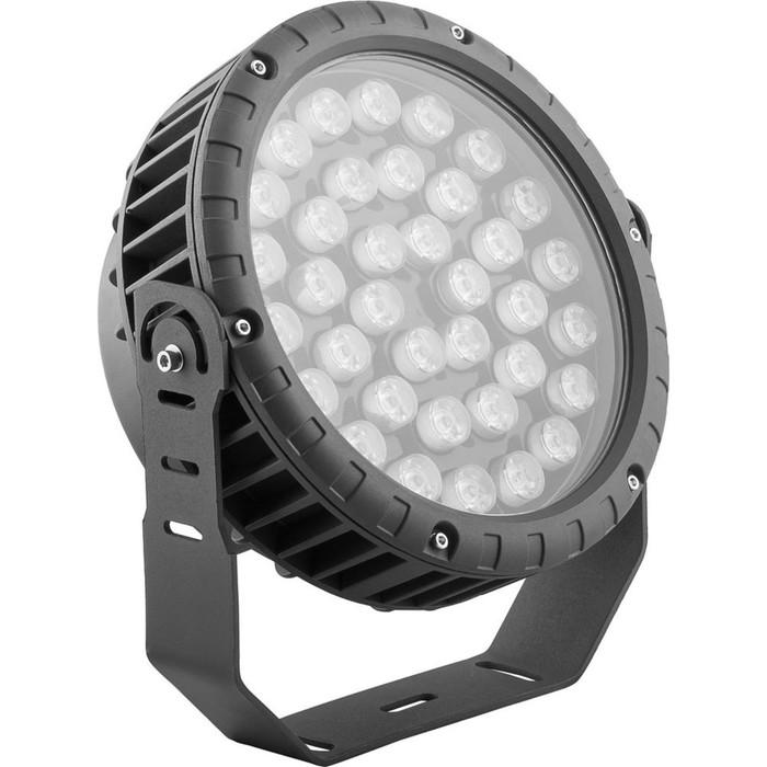 Прожектор светодиодный LL-885, 36W, свет теплый белый, IP65, цвет металлик