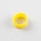 Муфта резиновая для коннектора LD527, цвет желтый
