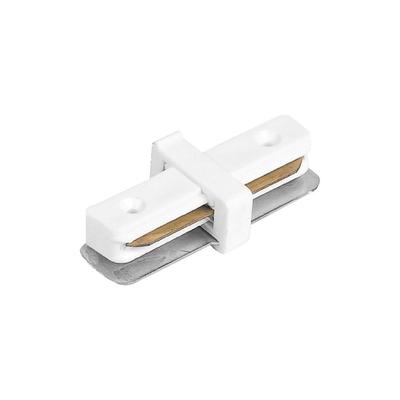 Коннектор прямой для шинопровода LD1000, цвет белый