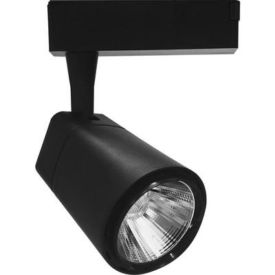 Светильник трековый светодиодный AL101, 12W, 1080 Lm, 4000К, цвет черный