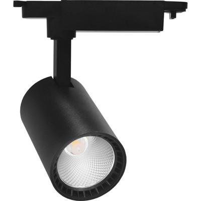 Светильник трековый светодиодный AL102, 8W, 720 Lm, 4000К, цвет черный