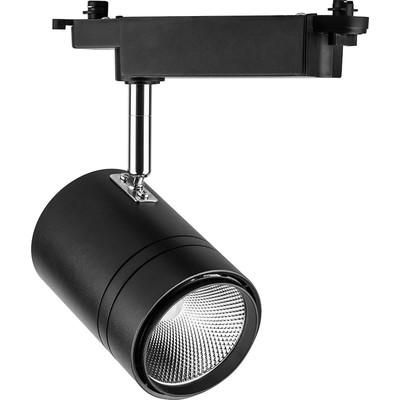 Светильник трековый светодиодный AL104, 50W, 4500 Lm, 4000К, цвет черный