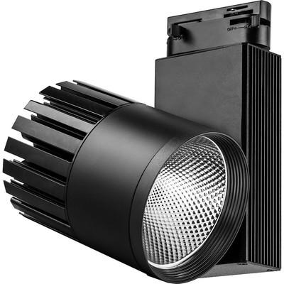 Светильник трековый светодиодный AL105, 40W, 3600 Lm, 4000К, цвет черный