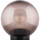 Светильник НТУ 02-60-205, E27, d=200мм, цвет дымчатый