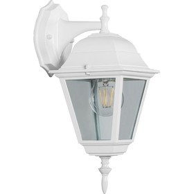 Светильник 4202, 100W, E27, цвет белый