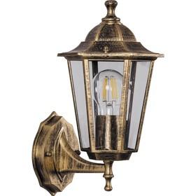 Светильник 6101, 60W, E27, цвет золото