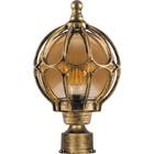Светильник PL3803, 60W, E27, цвет золото