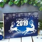 """Набор шоколадных конфет ассорти """"С Новым годом 2019"""""""