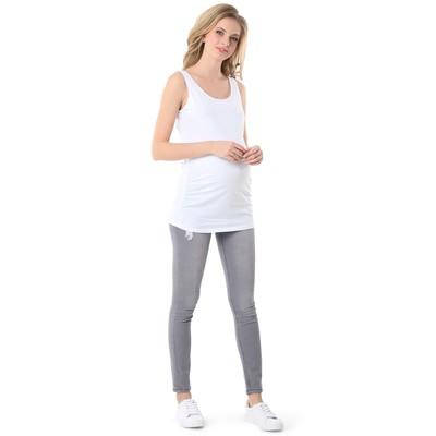 Майка для беременных 100775 цвет белый, р-р 52
