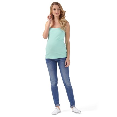 Майка для беременных 31864 цвет ментол, р-р 50