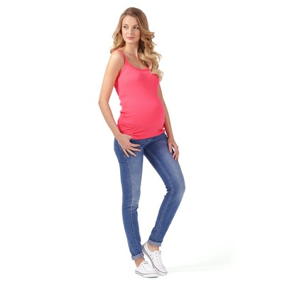 Майка для беременных 31865 цвет розовый, р-р 50