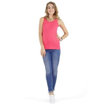 Майка для беременных цвет розовый, р-р 52