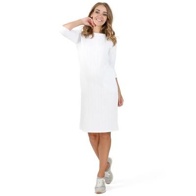 Платье для беременных цвет белый, р-р 50