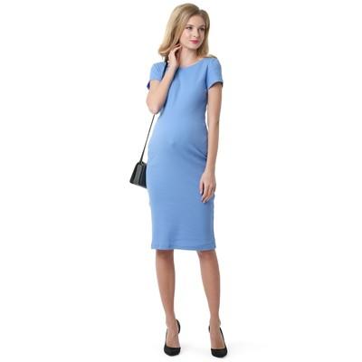 Платье для беременных 100856 цвет деним, р-р 48