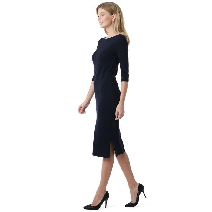 Платье для беременных 100841 цвет синий, р-р 42