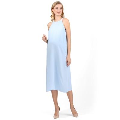 Сарафан   для беременных цвет голубой, р-р 44