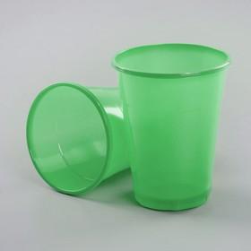 Стакан 200 мл 'Мопс', цвет зеленый Ош