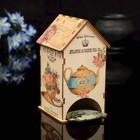 """Чайный домик """"Чайничек"""" с УФ-печатью, 8,5х9,5х16см"""