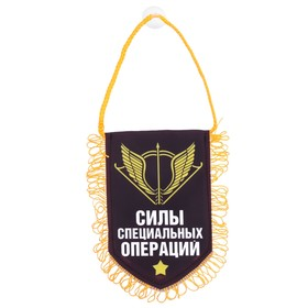 "Pennant in car ""special operations Forces"", 11 x 17,4 cm"