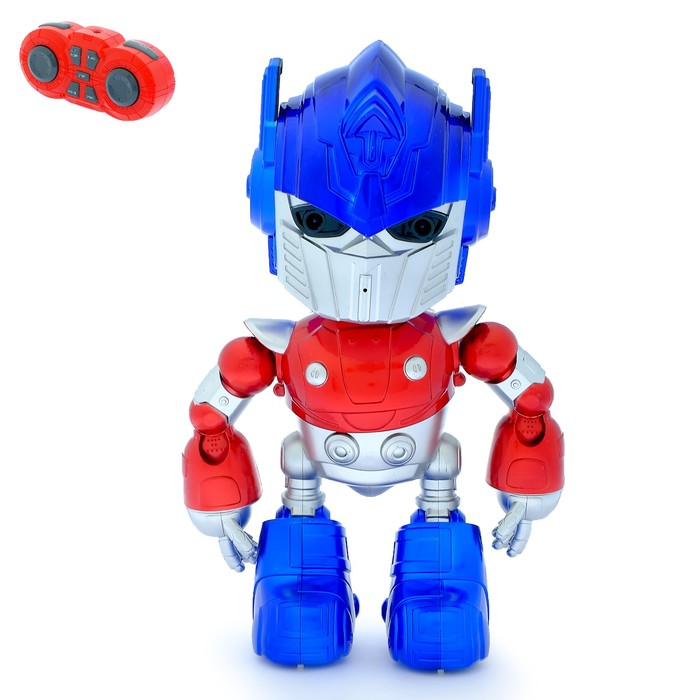Робот радиоуправляемый, программируемый «Оптимус», танцует, двигает руками, световые и звуковые эффекты