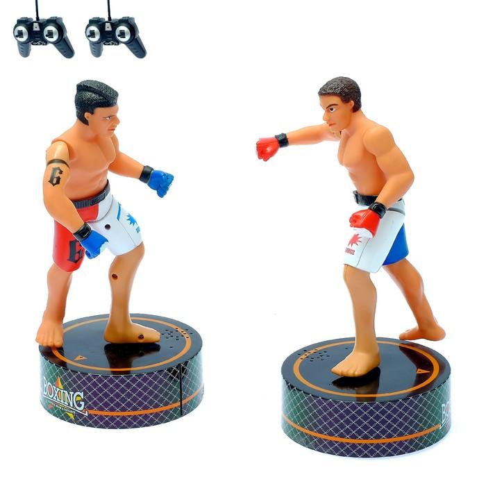 """Игровой набор радиоуправляемый """"Боксеры"""", набор 2 шт.звуковые эффекты"""